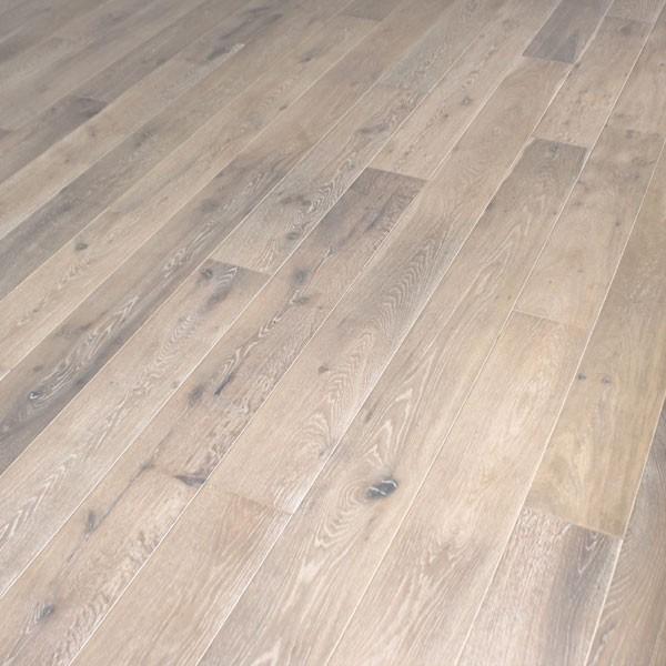 white oak hardwood flooring oak engineered prefinished fumed wire-brushed  BKIZQJW