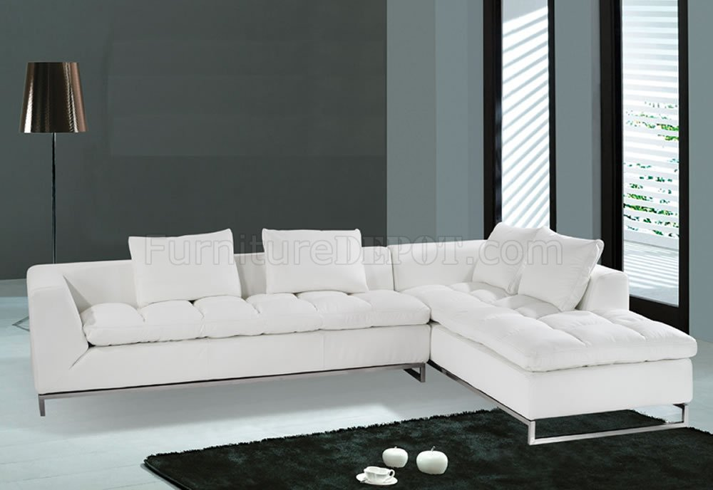 white sectional sofa white leather sectional sofa with chaise for great f32 sectional sofa white QRKSAHF