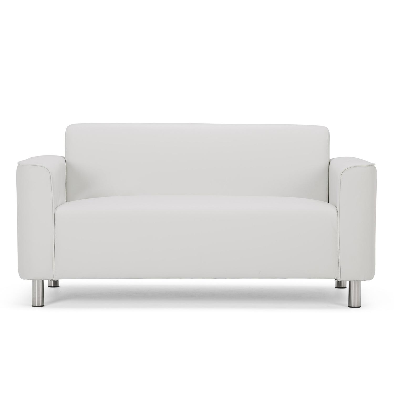 white sofas hans 2 seater sofa sticker YAGTONJ