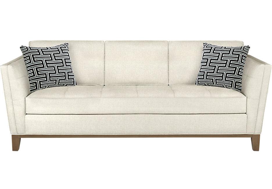 white sofas park boulevard off-white sofa JEHCWKG