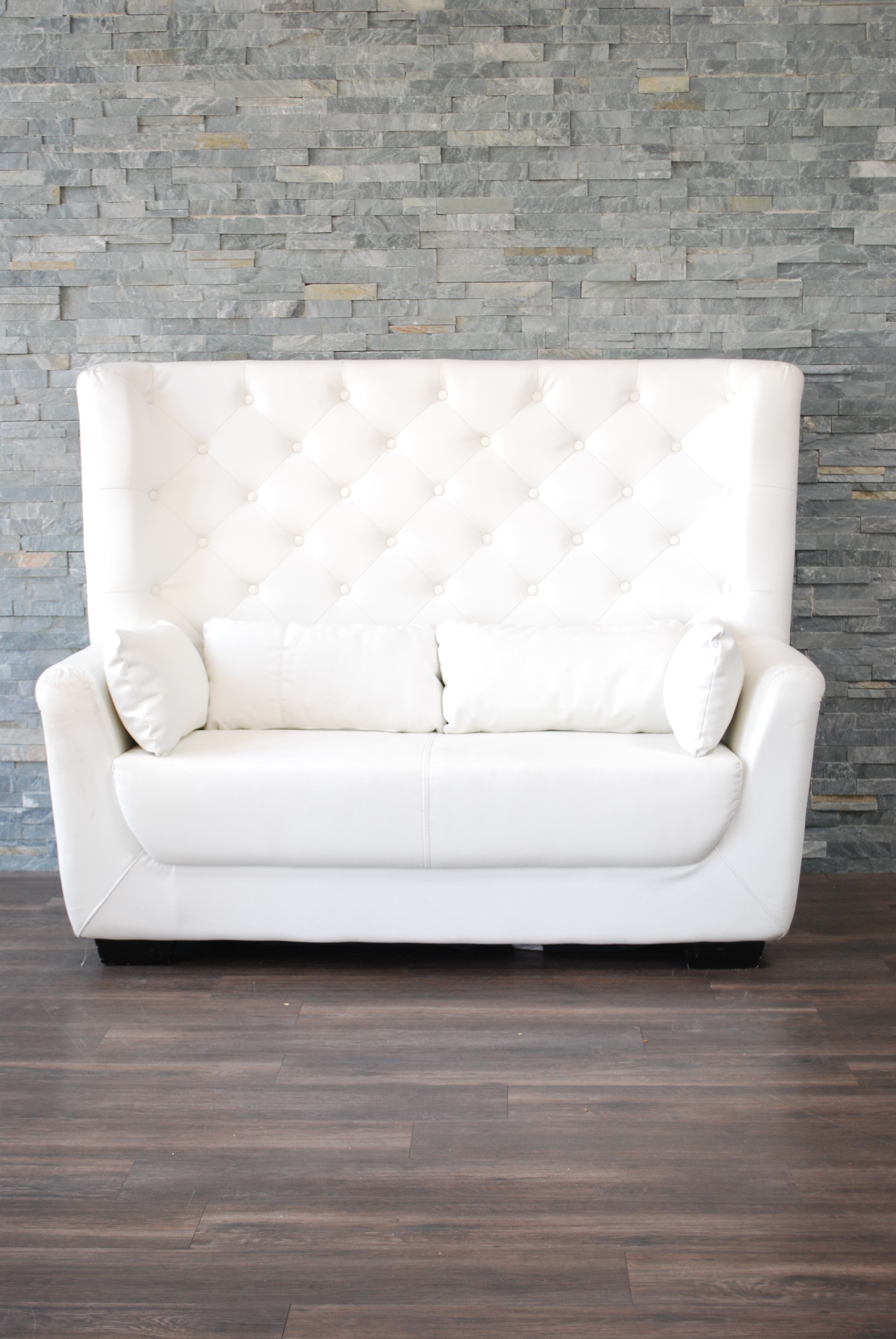white tufted loveseat white leather high back tufted love seat KRMISUO