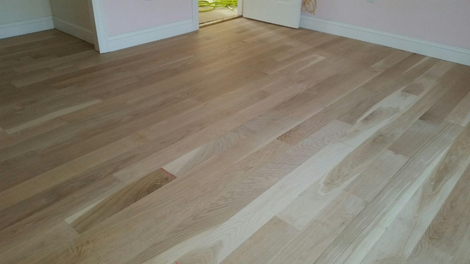 wide plank-select white oak hardwood flooring VUXPLSQ