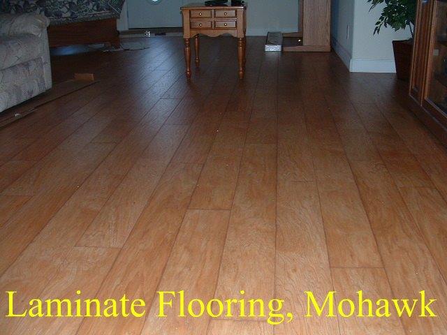 wood floor laminated mohawk laminate flooring with the beveled edge WIEEQYA