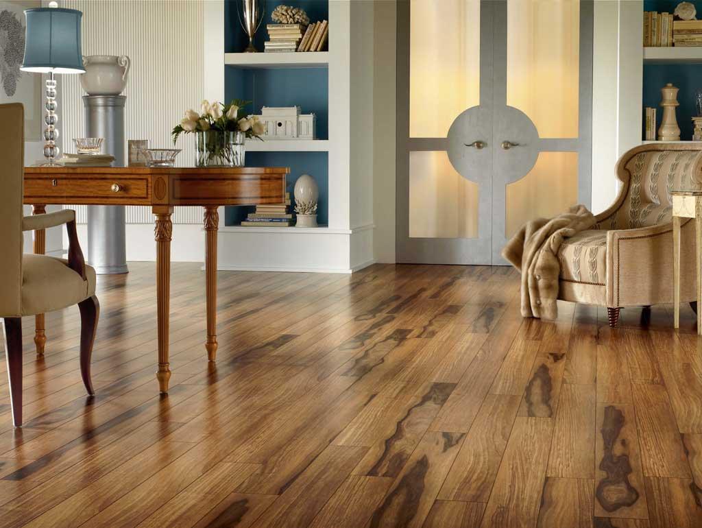 wood floor laminated rustic home office floor THWLQSP