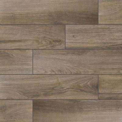 wood floor tiles sierra wood 6 in. x 24 in. porcelain floor and wall tile (14.55 XAAVYPT