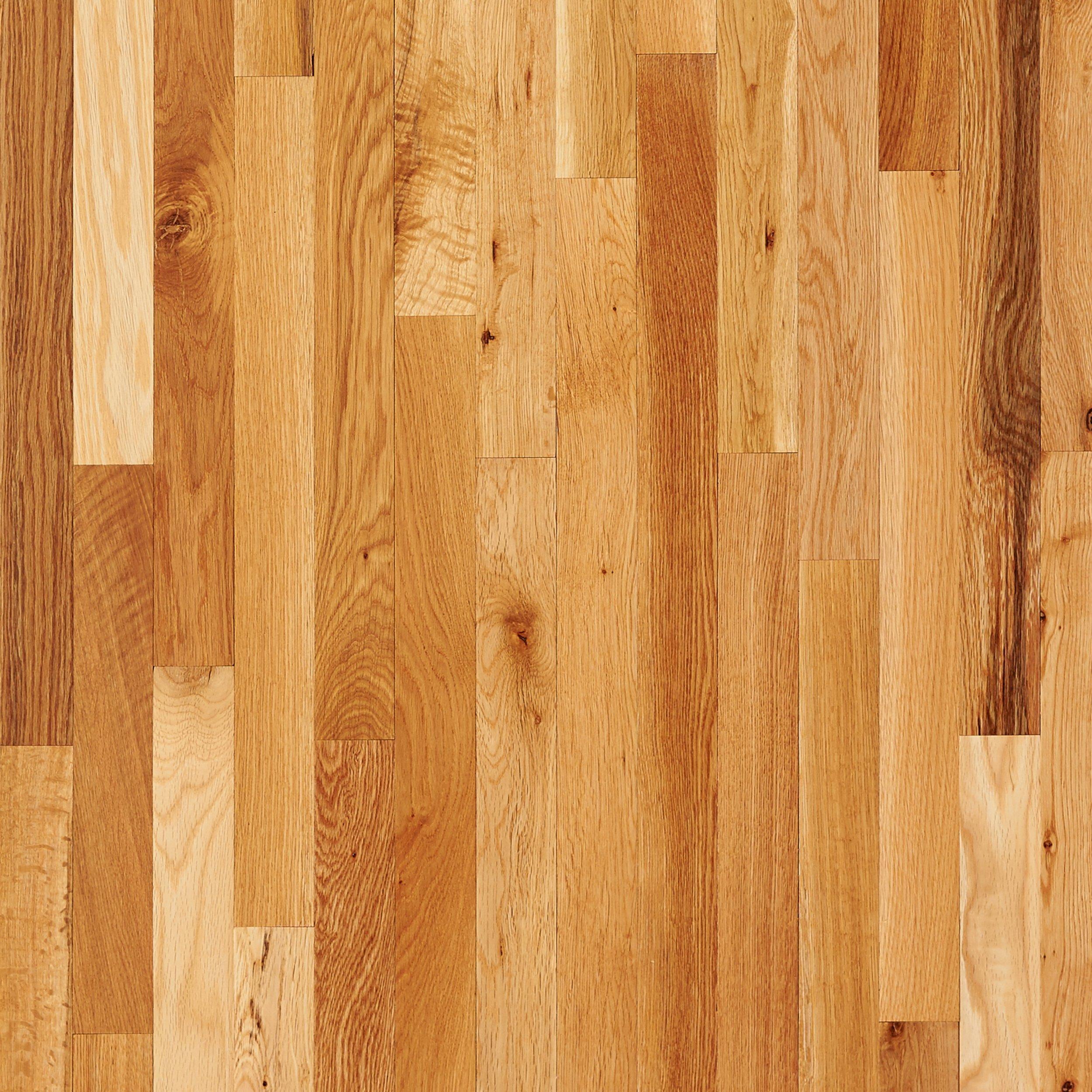 wood flooring natural oak smooth solid hardwood AXLVHXC