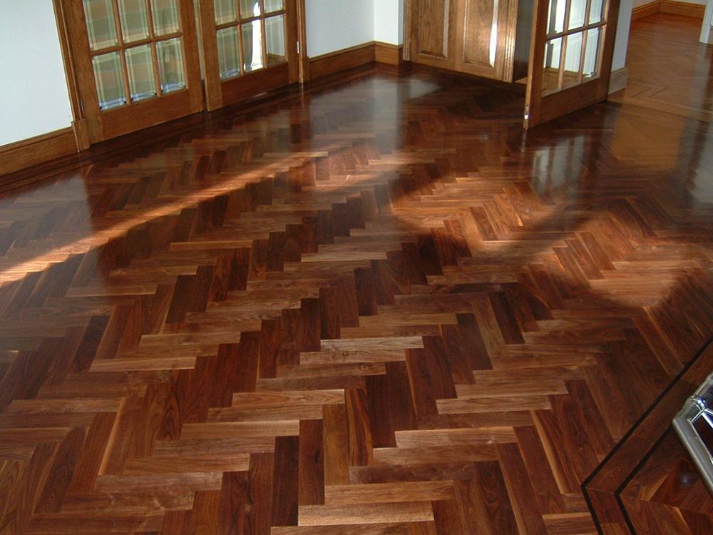 wood parquet flooring: classy recording studio essentials DUUWSKN