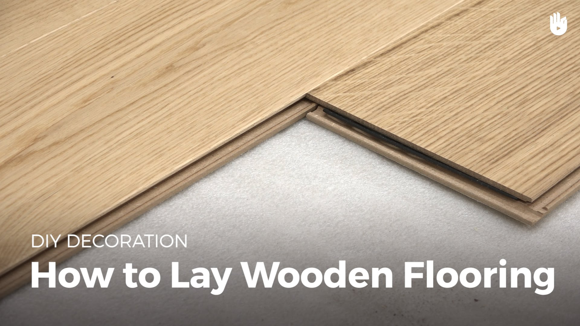 wooden flooring how to lay wood flooring | diy projects VXJHRJH