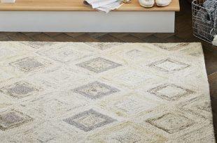 wool rugs prism wool rug - soot | west elm NJUFMQY
