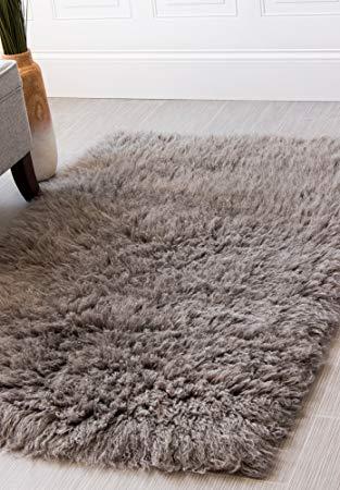 wool shag rug amazon.com: hand-woven soft wool flokati shag rug 8 feet by 10 feet (8u0027 NPCXJQE