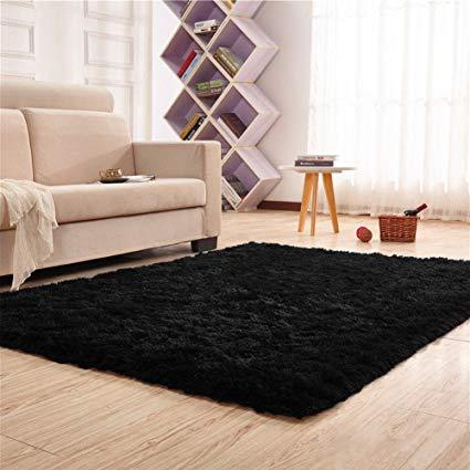 yoh super soft polyester fiber area rugs silky smooth bedroom mats fluffy VMZURBA