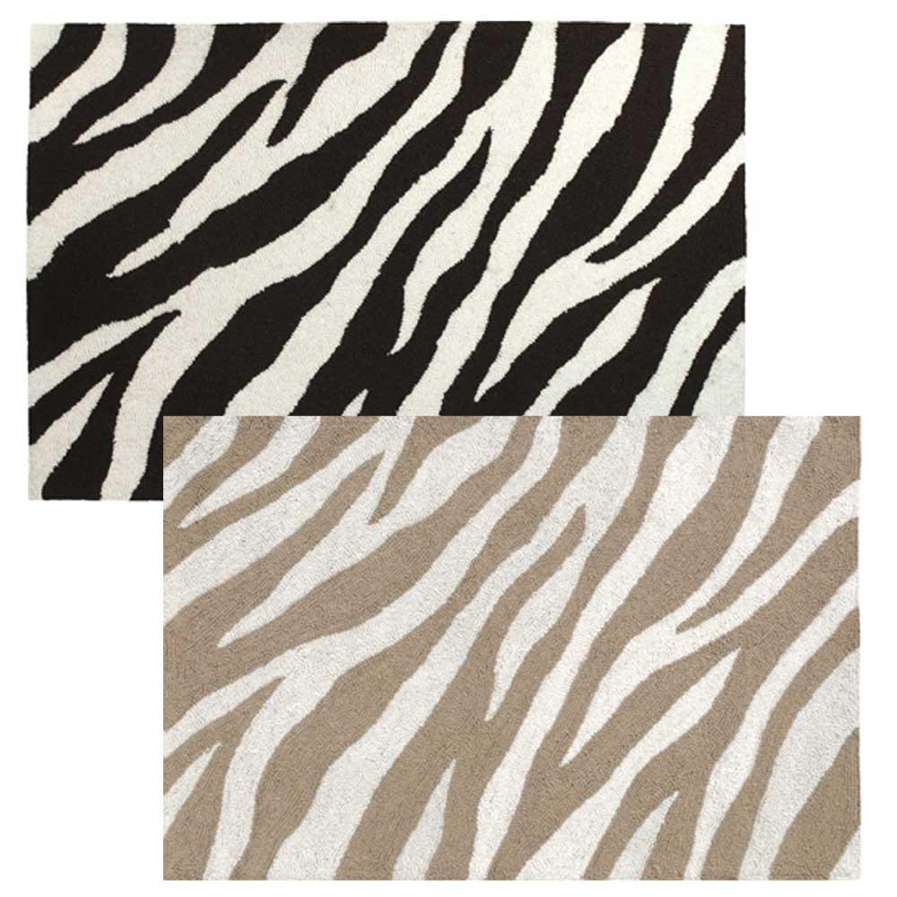 zebra rug OCVJKDG
