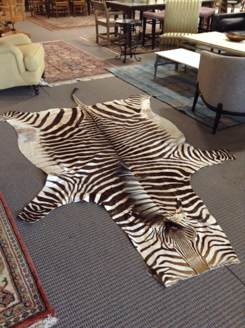 Few info on zebra rug