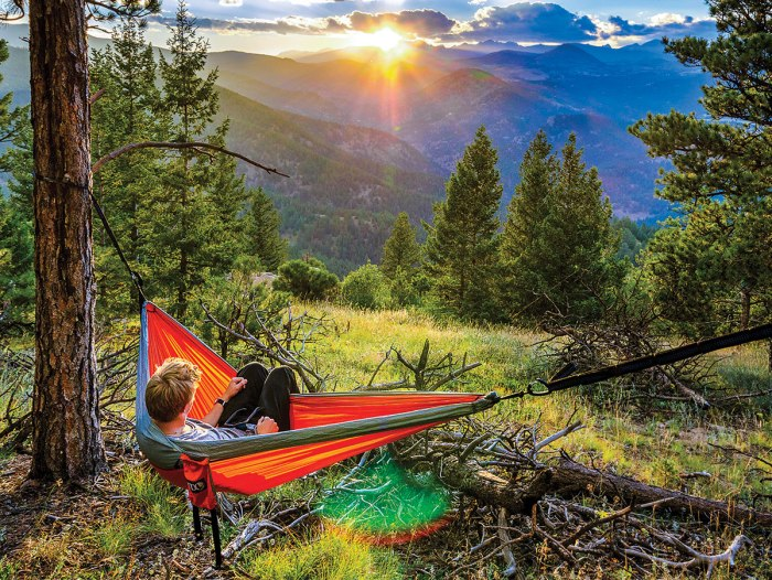A Beginner's Guide to Comfortable and Safe Hammock Camping – Boys .