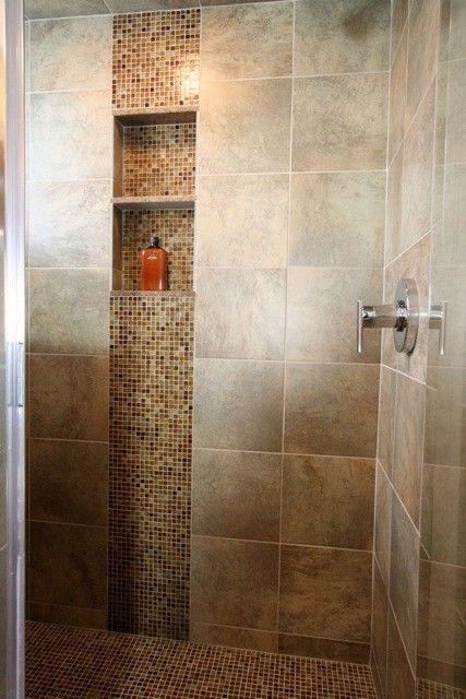 Shower Tile Design Ideas, Pictures, Remodel and Decor | Shower .