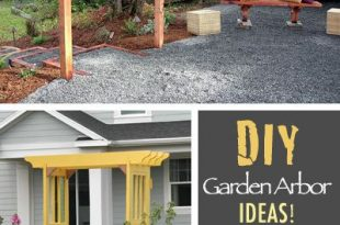 How to Build an Arbor for Your Garden • The Garden Glove | Diy .