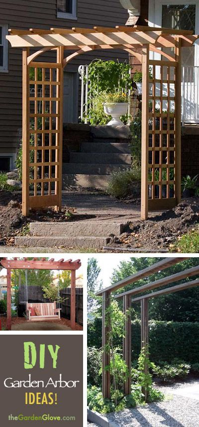 How to Build an Arbor for Your Garden • The Garden Glove | Garden .