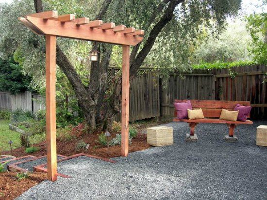 21 Brilliant DIY Backyard Arbor Ideas | Garden archway, Garden .