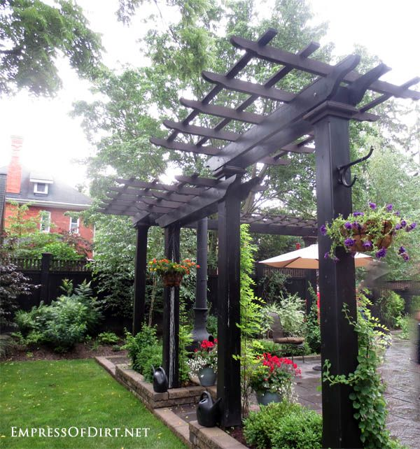 30 Arbor, Trellis, & Obelisk Ideas for Home Gardens | Empress of .