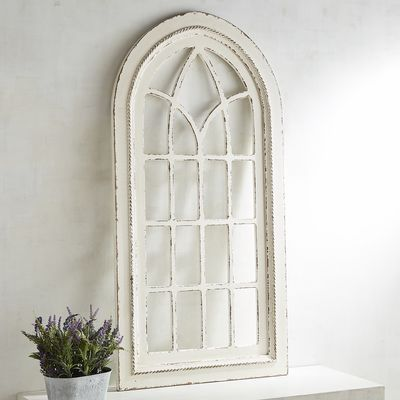White Rustic Arch Wall Decor | Pier 1 Imports | Arched wall decor .