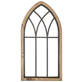 Rustic Cathedral Arch Wood Wall Decor | Hobby Lobby | 16627
