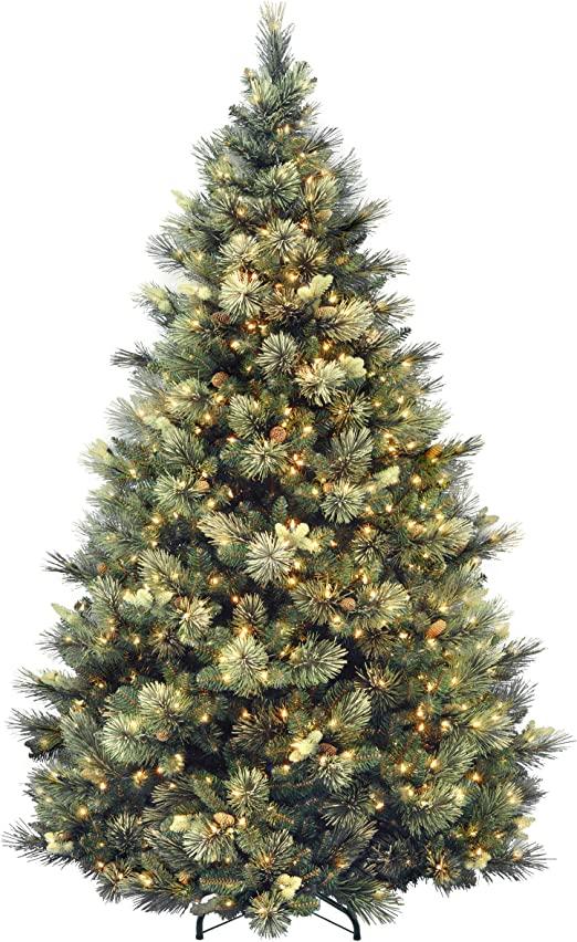 Amazon.com: National Tree Company lit Artificial Christmas Tree .
