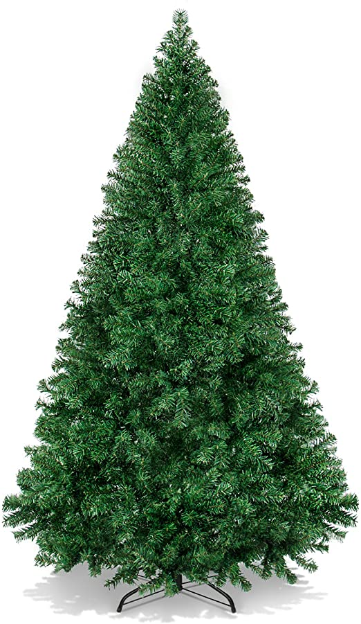 Amazon.com: Best Choice Products 6ft Hinged Artificial Christmas .