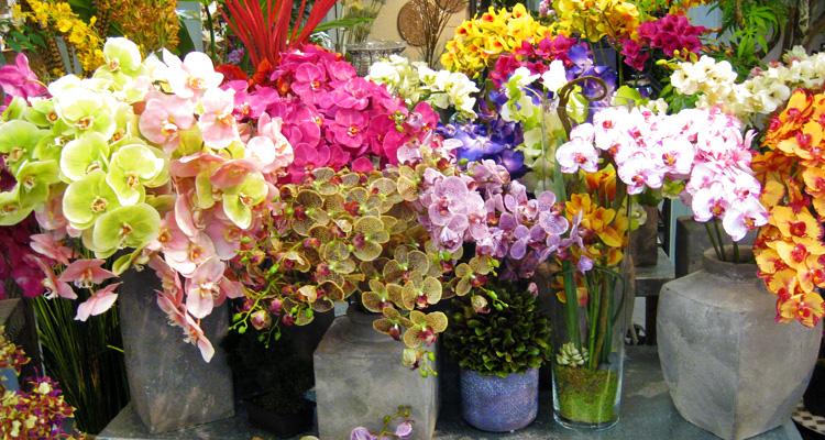 Realistic Silk Flowers and Plants | Los Angeles - Aldik Ho