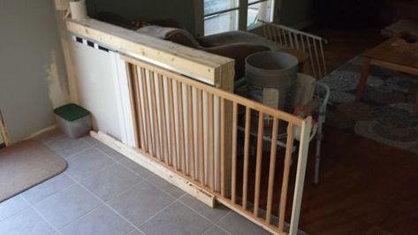 New pocket door remodel baby gates Ideas | Dog gate, Complete .