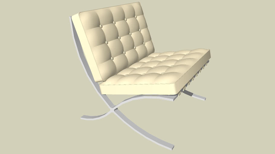 Barcelona Chair | 3D Warehou