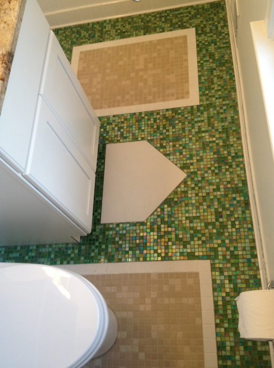 Nats-themed bathroom | Man cave bathroom, Man cave home bar .