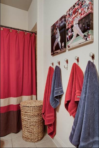 Extreme Interior Design: Sports Meet Bathroom Decor | Boys .