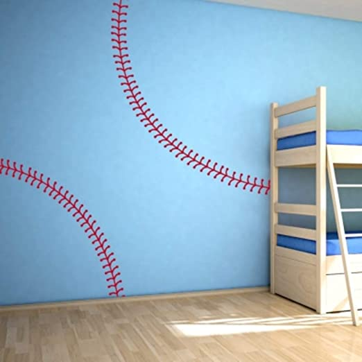 Amazon.com: Baseball Room Decor Baseball Wall Decals Baseball .