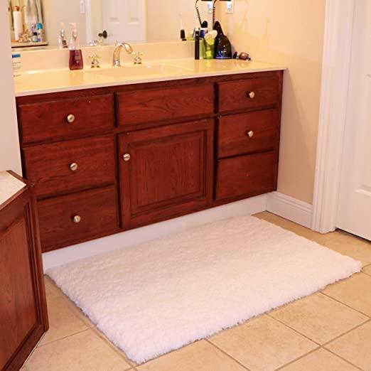 "Amazon.com: KMAT Bathroom Rugs Bath Mat 32"" x 47"",Large Soft ."
