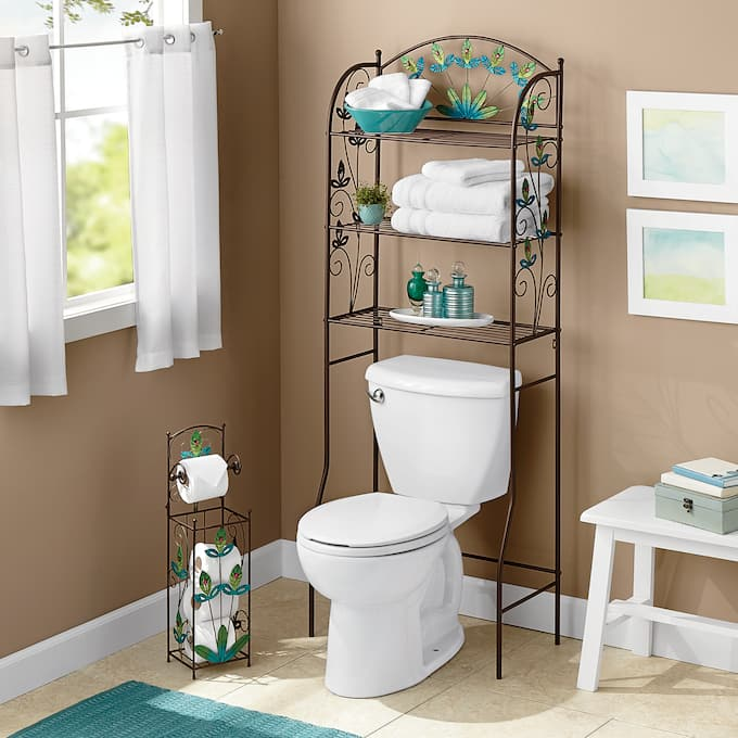 Peacock Bathroom Accessories | Country Do