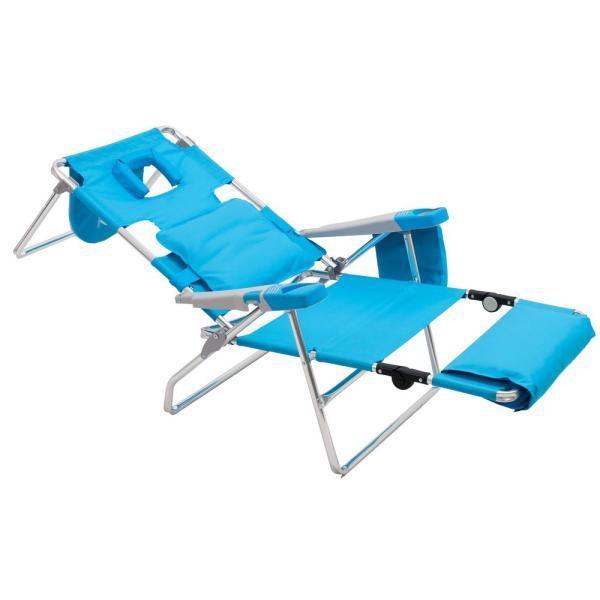 Rio Read-Through Aluminum Patio Beach Lawn Chair-SC570-72-1 - The .
