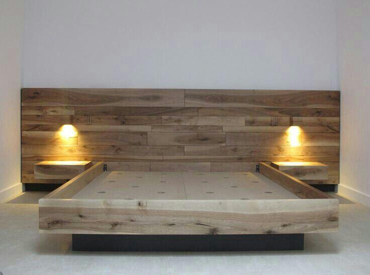 Home ideas | Diy bed frame, Diy bed, Floating b