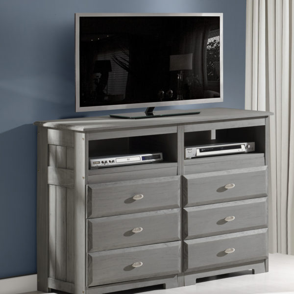 Discovery World Furniture Charcoal Media Chest – KFS STOR