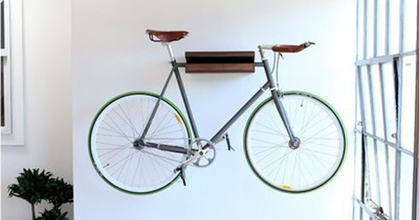 10 Ways to Hang Your Bike on the Wall Like a Work of Art | Indoor .