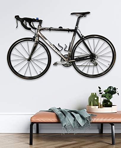 Bike Mounted On Wall