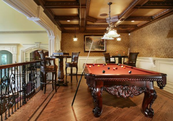 A few decor ideas and suggestions for your billiards room | Pool .