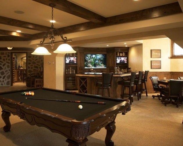30 Trendy Billiard Room Design Ideas | Game room family, Billiard .