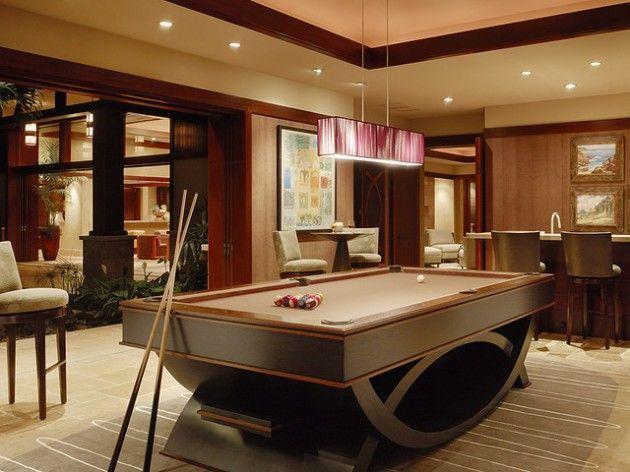 30 Trendy Billiard Room Design Ideas | Billiards room decor, Pool .