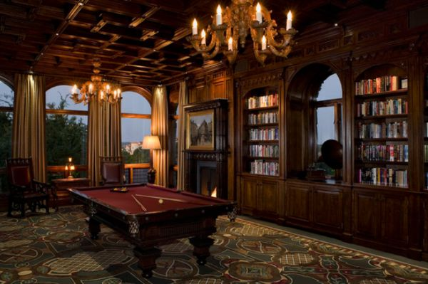 A few decor ideas and suggestions for your billiards ro