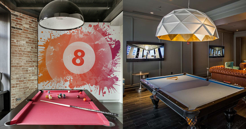 Best 90 Billiard Room Ideas - Pool Table Decor for Home or .
