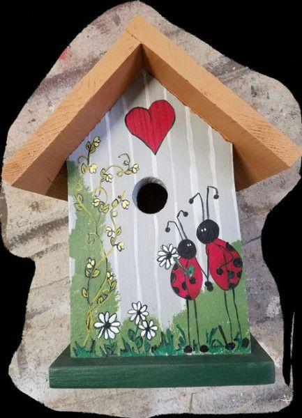 54+ Ideas painting bird houses ideas nest box | Bird houses .