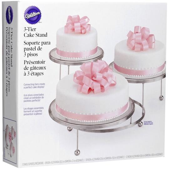 Wilton® 3-Tier Cake Sta