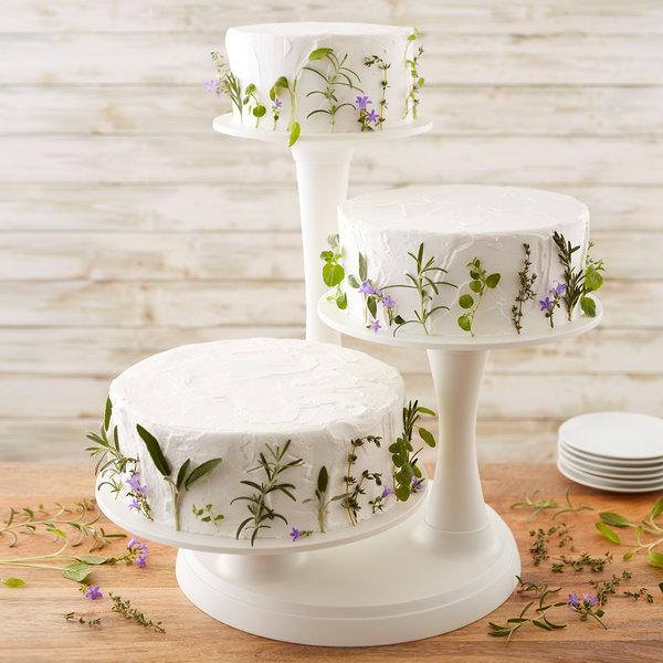 Wilton 3 Tier Cake Stand | Wilton 307-350 Three-Tier Pillar Cake .