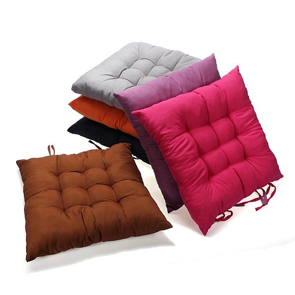15x15 inch Anti Slip Soft Square Cotton Chair Seat Cushion Pillow .