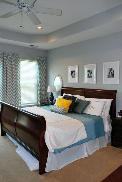 Stonington grey- Benjamin Moore. Cherry Wood Bedroom On Pinterest .